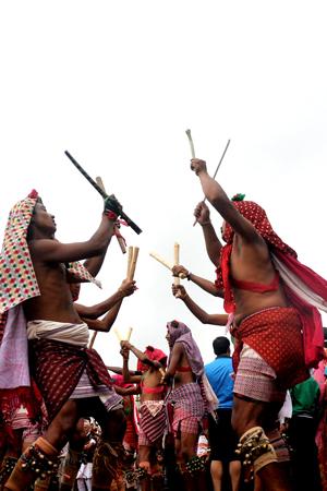 Gai Jatra in Bhaktapur